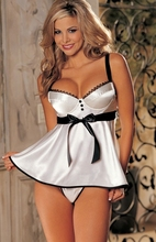 MOONIGHT Plus Size Lingerie Sexy Lingerie Hot Dress Sleepwear,Sexy Costumes,Babydoll,Pajamas For Women S M L XL2XL3XL4XL5XL6XL