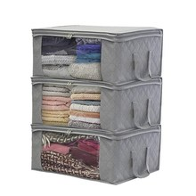 Simple Nonwovens Four optional large capacity quilts storage bag clothing finishing moisture-proof dust