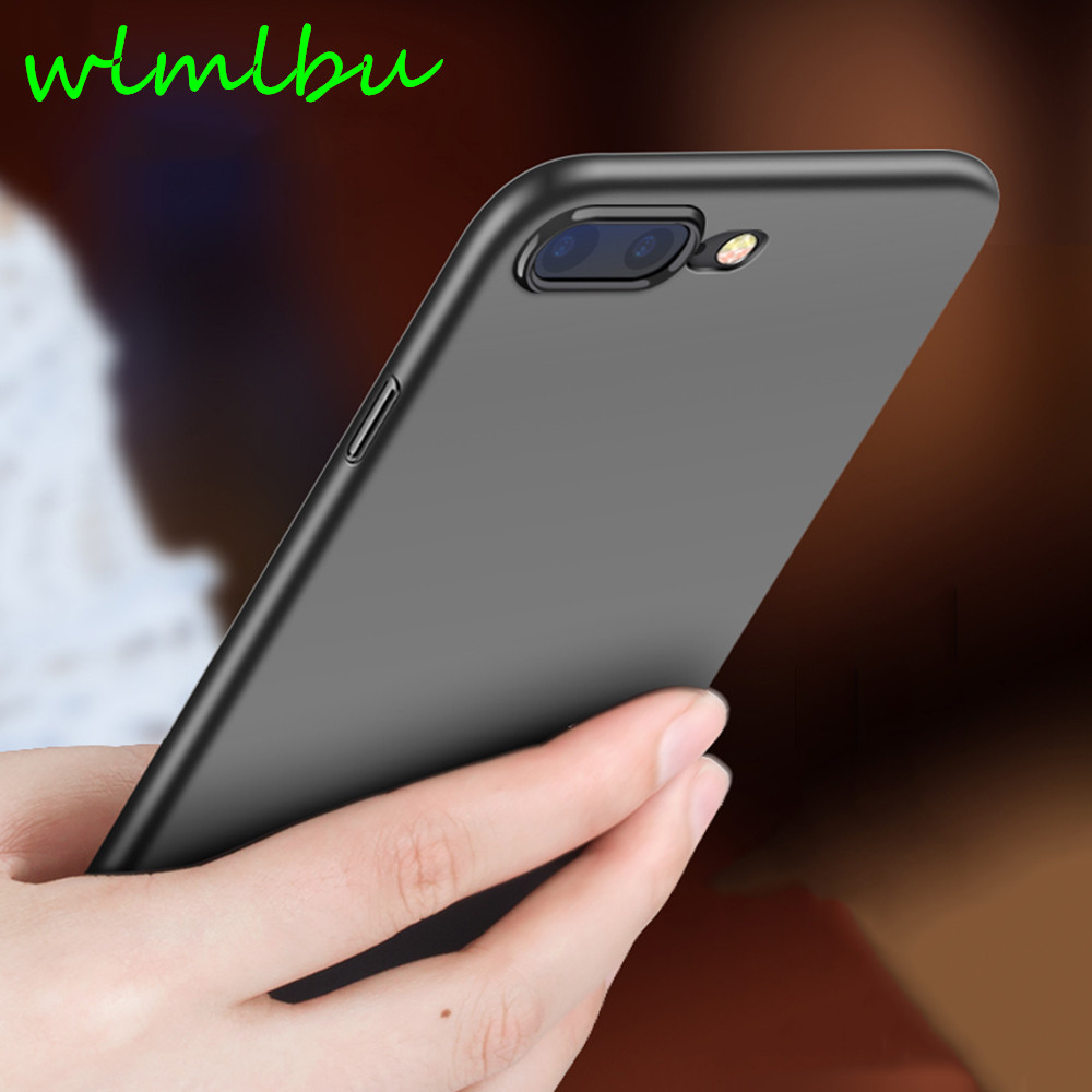 Luxury Hard PC Back Plastic Matte Case for iPhone 6s 6 Plus Phone Cases Full Cover Case PC Shell For iPhone X 5S SE 7 Plus