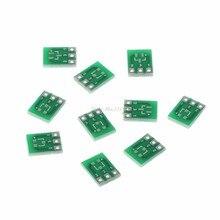 10 pces duplo-lado smd SOT23-3 para dip sip3 adaptador pcb placa conversor diy circuitos integrados dropship