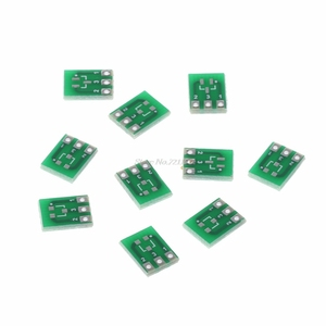 10 Pcs Double-Side SMD SOT23-3 To DIP SIP3 Adapter PCB Board DIY Converter Board Integrated Circuits Dropship
