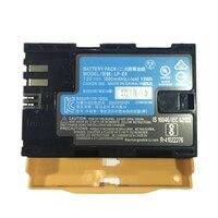 LP E6 LPE6 Digital Camera Battery LP E6 lithium batteries pack For Canon EOS 5DS 5D Mark II Mark III 6D 7D 60D 60Da 70D 80D 5DSR