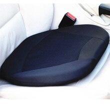 Bellek köpük ve jel Pad ortopedik jel koltuk minderi araba sürücüsü için koltuk veya ofis koltuğu stadyum w/bellek azaltmak arka bel ağrısı