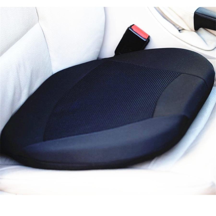 Memory Foam and Gel Pad Orthopedic Gel <font><b>Cushion</b></font> Seat for Car Driver Seat or Office Chair Stadium w/ Memor Reduce Back Lumbar Pain