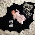 Unisex bebê morcego cobertor xale 2016 nova moda jogo de crianças rastejando Mat tapete para cama carrinhos tamanho 140 X 100 CM