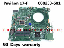 NEW!! 800233-501 FOR HP 17-F series Laptop Motherboard DAY23AMB6F0 REV:F A10-4655M Mainboard 90Days Warranty 100% tested