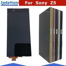 Оригинальный 5,2 «дисплей для Sony Xperia Z5 ЖК-дисплей сенсорный экран с рамкой для Sony Xperia Z5 двойной ЖК-дисплей E6653 E6603 E6633 E6683