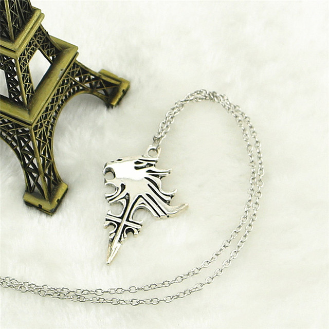 2017 new anime final fantasy viii 8 griever squall leonhart lion 2017 new anime final fantasy viii 8 griever squall leonhart lion head necklace cosplay pendant collection mozeypictures Image collections