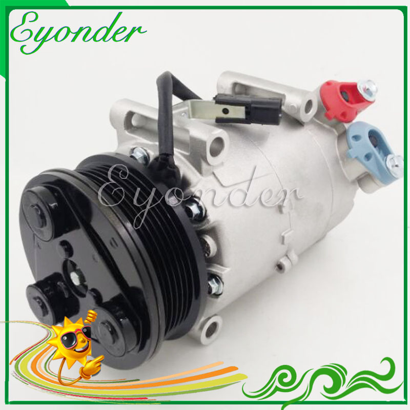 VS16 A/C AC Air Conditioning Compressor Cooling Pump PV6 for FORD FOCUS III Turnier GRAND CMAX C-MAX DXA CB7 DXA CEU 2.0 TDCi 520w cooling capacity fridge compressor r134a suitable for supermaket cooling equipment