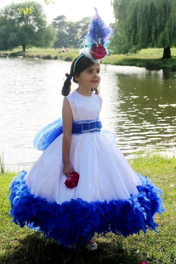 Shine Flower Girl Dresses 2015 Jewel Neck Sweet Princess White ...