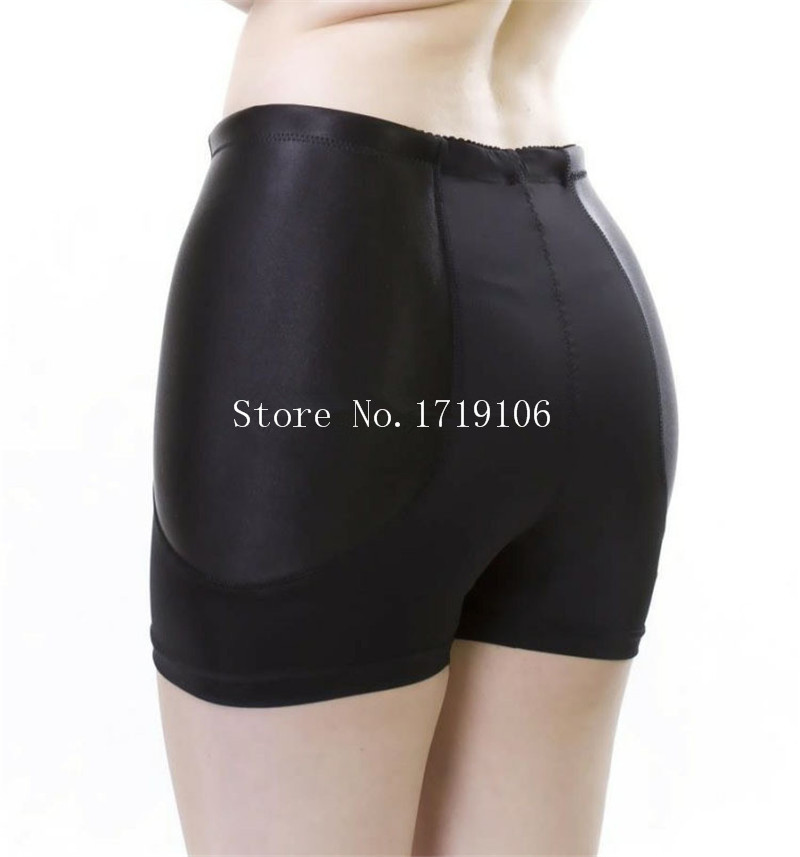 91703a347 Women Padded Panties Asian Size Hip Lift Up Make Wide Butt Knickers Plump  Buttocks Underwear Black Nude Shaper Panty Boyshorts-in women s panties  from ...
