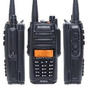 Image 4 - UV 9R زميله ترقية Baofeng UV 9R IP67 للماء الأشعة فوق البنفسجية المزدوج الفرقة 136 174/400 520 MHz هام Baofeng 10 W radio10 KM UV 9R combinatio