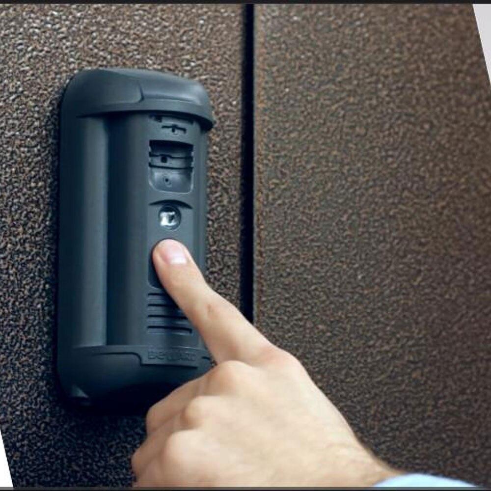 La reconnaissance faciale HD Caméra POE Vidéo Interphone Sonnette RÉGLABLE CHAMP DE VISION ANTI-VANDALISME IP VIDÉO INTERPHONES EN PLEIN AIR