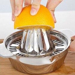 Mini espremedor de mão espremedor de suco de limão laranja fabricante de aço inoxidável manual espremedor de imprensa espremedor de citrinos mini eletrodomésticos