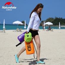 Naturehike 500D водонепроницаемая сумка, ПВХ сумка для хранения сухой мешок для сплав на каноэ каяках Спорт на открытом воздухе сумки для плавания Дорожный комплект рюкзак