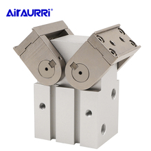 цена на 180° Angular Type Air Gripper Rack & Pinion Type Cylinder MHW2-20D 25D1 32D 40D 50D