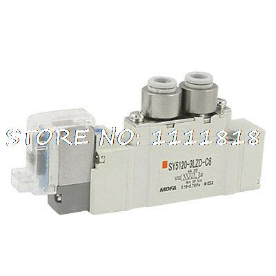 Internal Pilot 2 Position 5 Ports Solenoid Valve AC 110V pc400 5 pc400lc 5 pc300lc 5 pc300 5 excavator hydraulic pump solenoid valve 708 23 18272 for komatsu