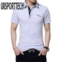 5XL Sommer Herren T-shirt Baumwolle Kurzarm Revers Hemd männer Business & Casual Brief Gedruckt Männliche T-shirt Atmungsaktiv Tees