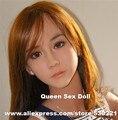 NUEVO #85 de silicona realista maniquíes cabeza de muñeca realista del sexo, muñecas de cabeza con el sexo oral real, productos del sexo