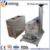 20w Portable Fiber Laser Marking Machine With Laptop Metal Laser Engraving Machine