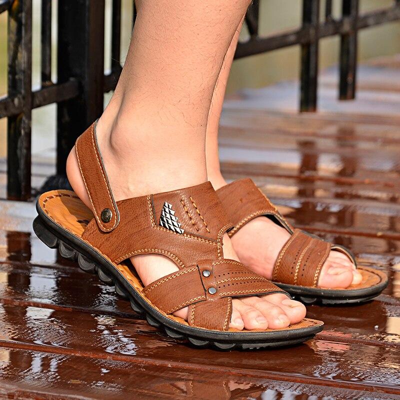 La Los Sandalias Nuevas De Hombres Zapatos 2017 Manera ALRj5q34