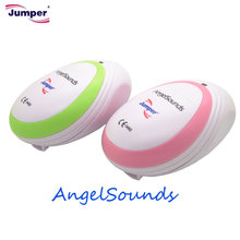 Jumper AngelSounds CE FDA Mini Fetal Doppler Pocket Ultrasound Prenatal Fetal Detector Portable Baby Heart Rate Monitor