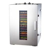 MAIDU ST 02 Food Dehydrators 304 Stainless Steel High Capacity Dried Fruit Machine Dehydration Air Dryer
