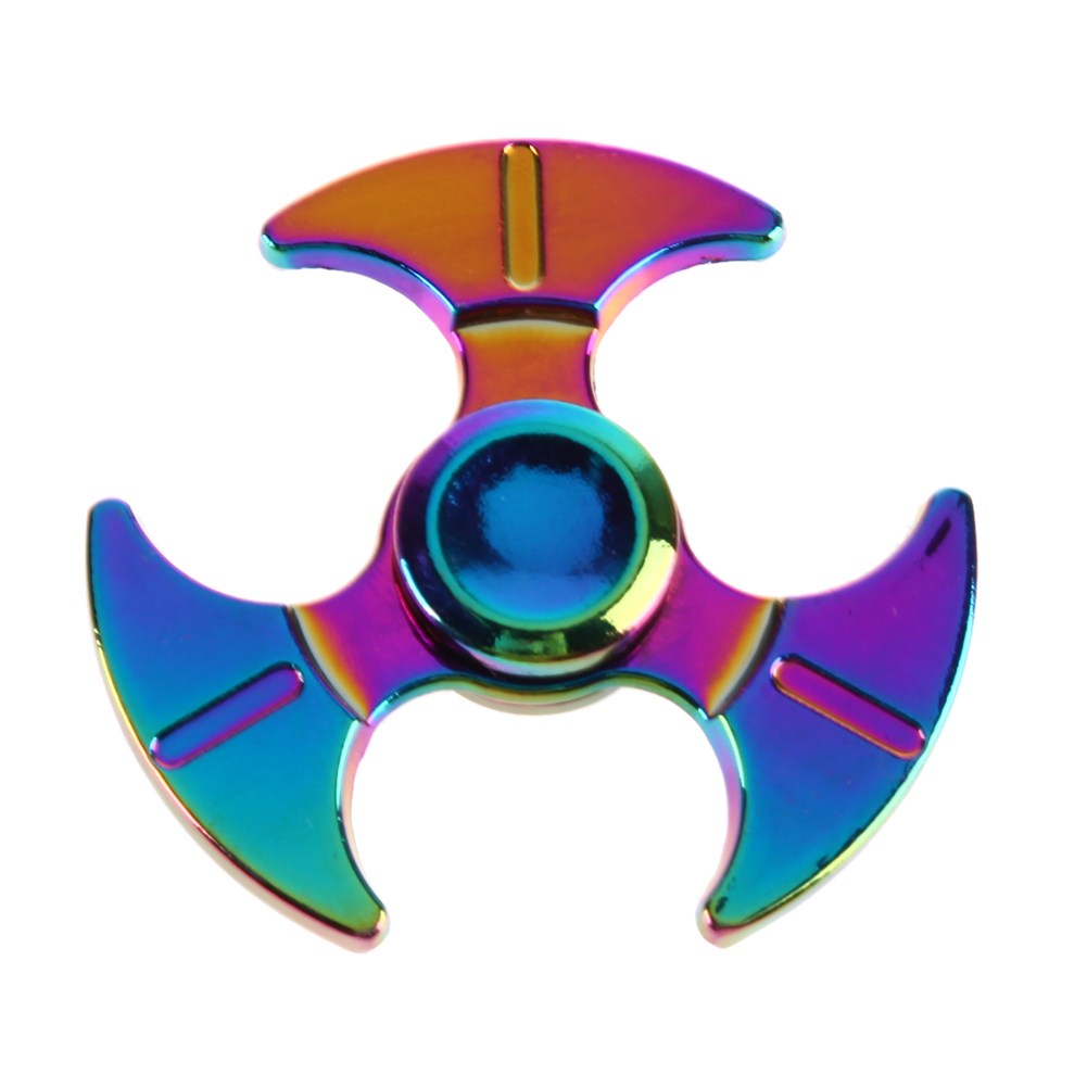 EDC Metal Fidget Spinner Rainbow Anti Stress Toys for Kids Adults Focus Colorful Hand Spinner pudcoco metal boys girls rainbow fidget hand finger spinner focus edc bearing stress toys kids adults