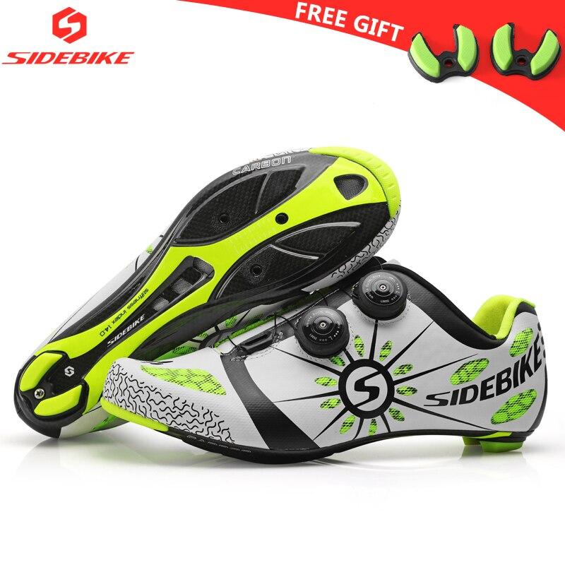 Sidebike углерода Вело обувь шоссейные велосипеды для мужчин racing professional обувь для велоспорта self lock Спортивная дышащая
