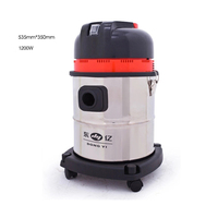 Household Portable 15L Wet And Dry Vacuum Cleaner Ultra Powerful Commercial Car Washing With Bucket Suction