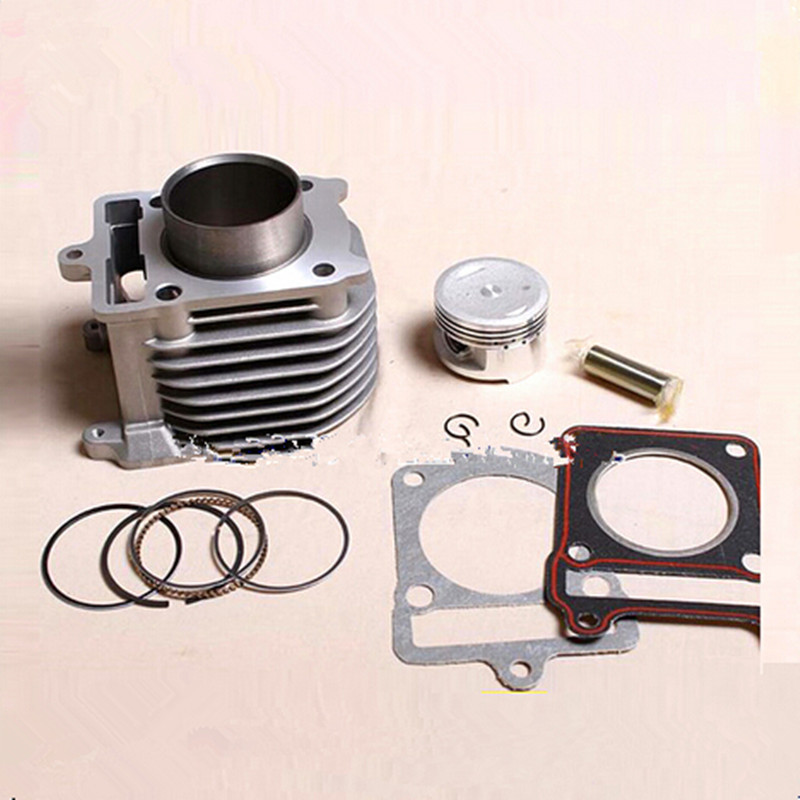 51.5mm Cylinder & Piston Set & Gasket All Sets For Yamaha ZY125 125CC ZY 125 Motorcycle Air-Cooled NEW