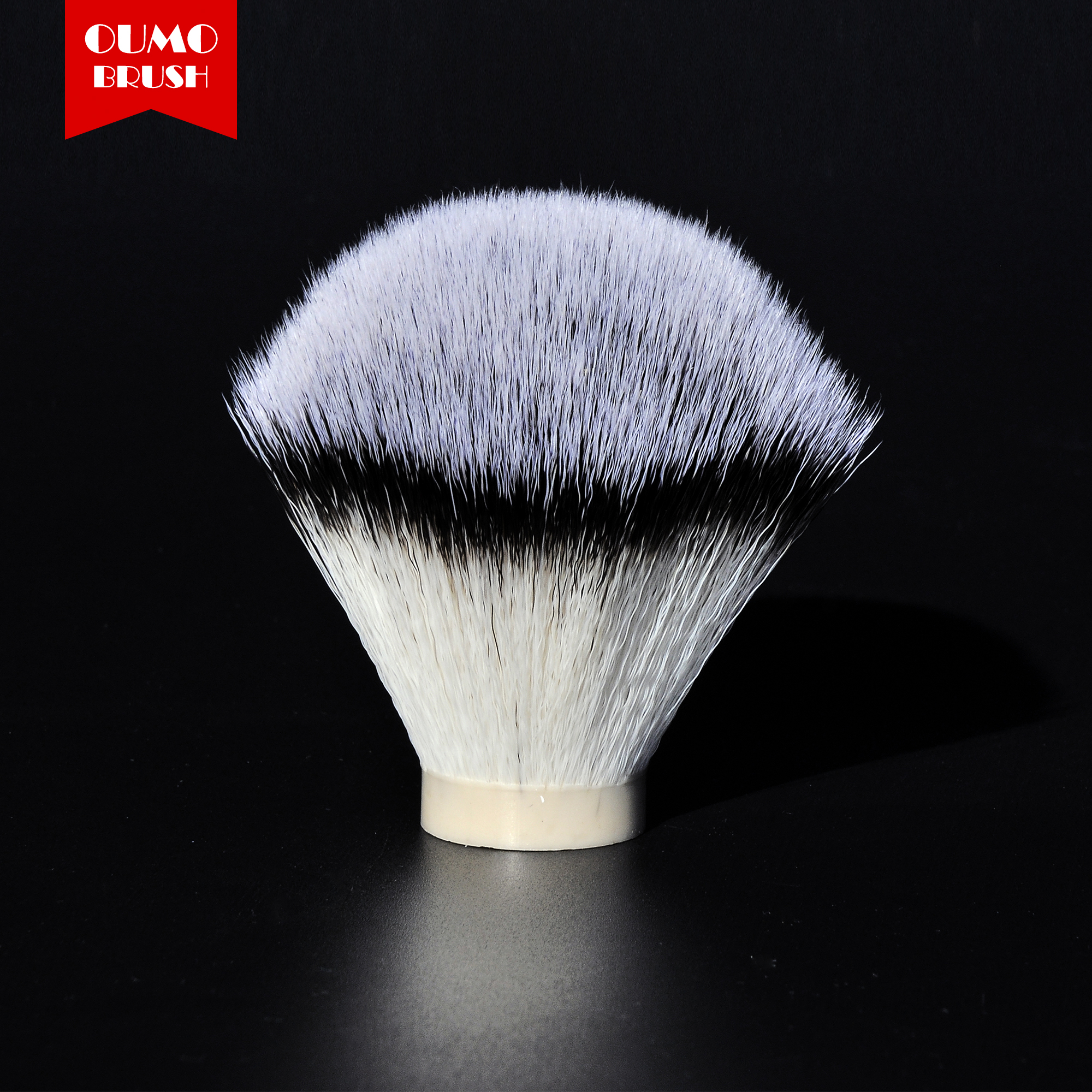 OUMO BRUSH-3 Color Synthetic Hair Shaving Brush Knots