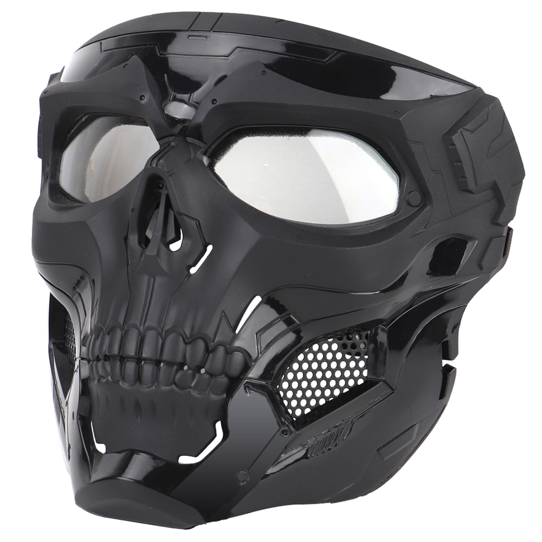 2019 WST Skull Tactical Hunting Mask Halloween Party Games Face Mask For FAST Outdoor Combat Shooting Face Protective Mask