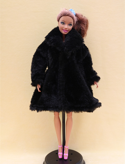 Image 4 - 15 Type High Quality Fashion Handmade Clothes Dresses Grows Outfit Flannel coat for Barbie Doll dress for girls best gift-in Dolls Accessories from Toys & Hobbies