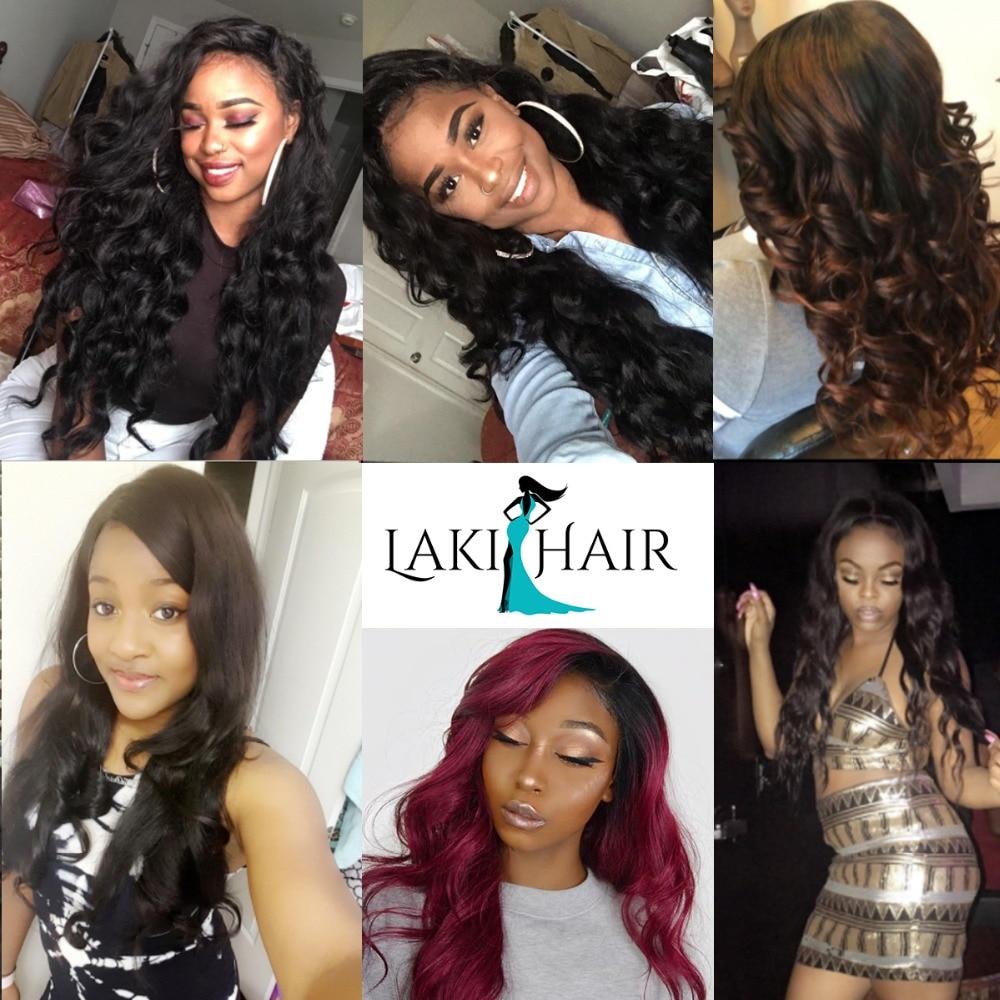10  Brazilian Hair Weave Bundles With Frontal three Pcs Physique Wave Bundles With 13×4 Lace Frontal Pure Coloration 100% Remy Hair Lakihair HTB1BtydIx1YBuNjy1zcq6zNcXXaj