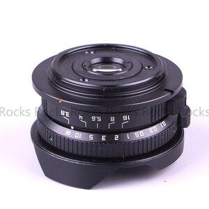 Image 3 - Aparat Pixco 8mm F3.8 kombinezon rybie oko do aparatu Micro cztery trzecie Micro 4/3 + torba na prezent + paski do aparatu