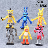 6pcs Five Nights At Freddy S FNAF Game Action Figures Doll Kids Children Toy Set