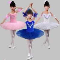 Children S Ballet Skirt Costume Girl Swan Dance Dress Figure Skating Dress Professional Platter Ballet Tutu