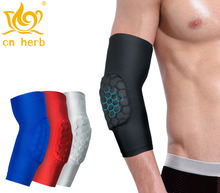 Cn Herb 2 pcs sports honeycomb impact protection outdoor basketball, tennis badminton, horse riding Taekwondo arms