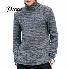 2017 New Herfst Mode Merk Casual Sweaters Slim Fit Winter Turtleneck Truien En Mannen Pullover Men Truine Men Effen Kleur M-5XL