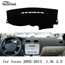 Para ford focus focus ST dashboard mat Cojín Pad Photophobism almohadilla Protectora Shade car styling accesorios
