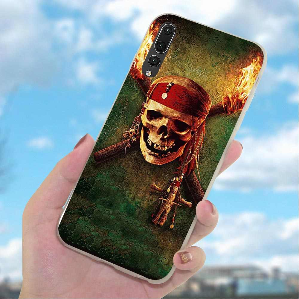 Caribbean Johnny Depp Phone Cover for Huawei Honor Y6 Prime 2018 Case 6A 7A Pro 7X 8 9 10 Lite 7C 8C Y7 Prime Y9 Nova 3 3i Print