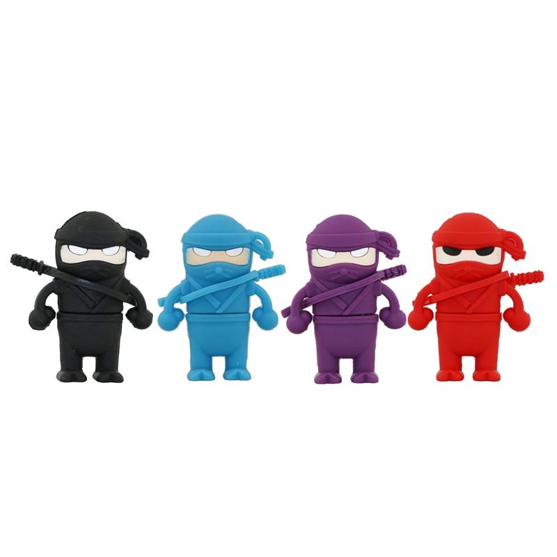 New Creative Cool Cartoon Ninja font b USB b font font b Flash b font font