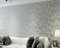 Beibehang Contracted European Non Woven Wall Wallpaper Living Room Dining Room Bedroom TV Background Wall Paper