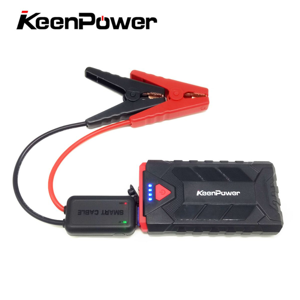 Keenpower12V Petrol Portable 500AEmergency StartingDevice 8600mAh Li PoBatteries CarCharger JumpStarter Booster Safety Powerbank