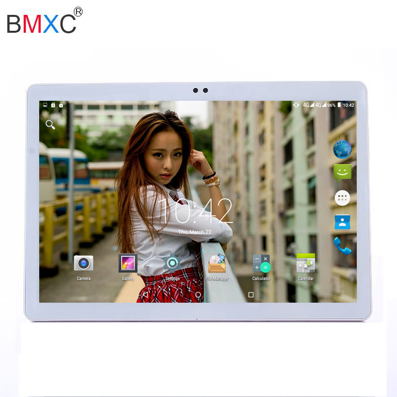 Dropshipping 10 inch Tablet Android Tablet PC Octa /10 Core 4G RAM Tablet pcs 64GB ROM phone call tablet WIFI GPS Metal cover 你好 法语4 学生用书 配cd rom光盘