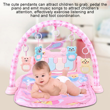 1 Pcs Kids Children Play Mat Gym Fitness Rack Baby Toy Piano Music Early Education YJS Dropship
