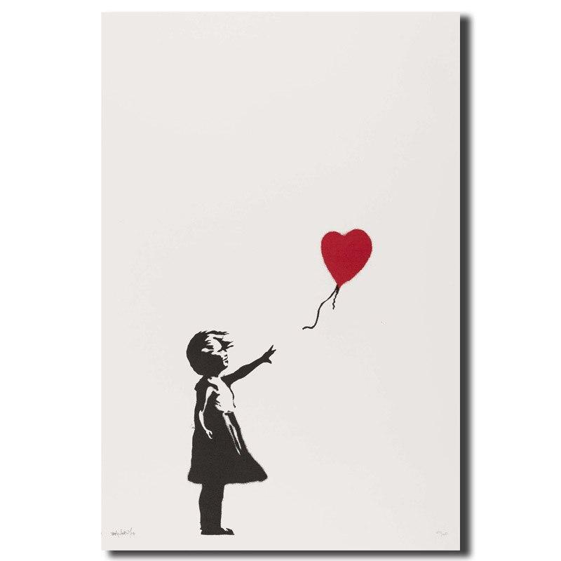 Banksy Girl With Balloon…