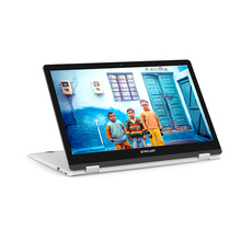 Multilingual Silver Dual Core Laptop with 2.0MP Camera