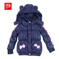 new arrival babys girls lovely fall coat Removable hat Comfortable and breathable clothes